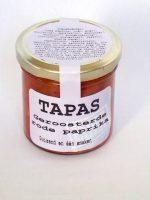 Tapas Geroosterde rode paprika dip