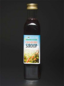 Cranberrysiroop 250 ml
