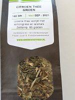 Citroen thee groen