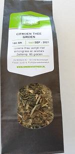 Groene thee met lemongrass