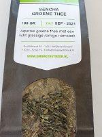Sencha groene thee mandarijn