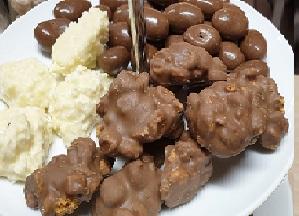 Chocoladetrio